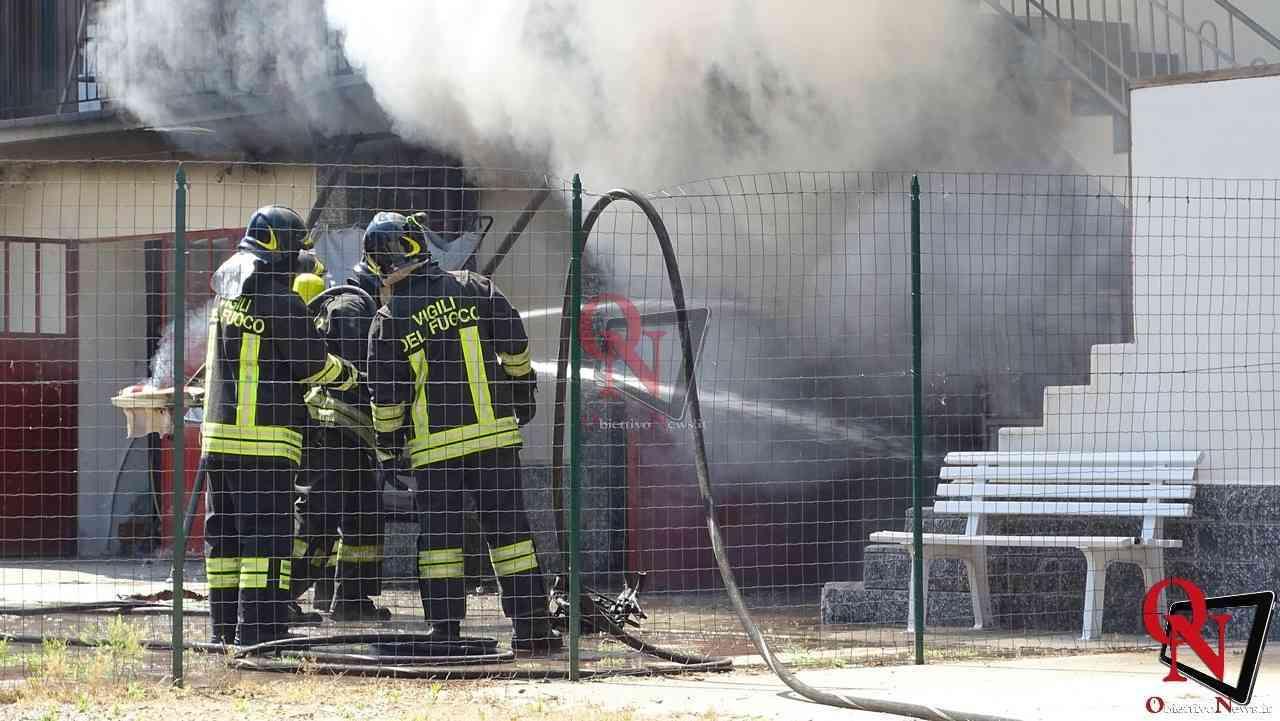 Oglianico Benne Incendio Garage 6