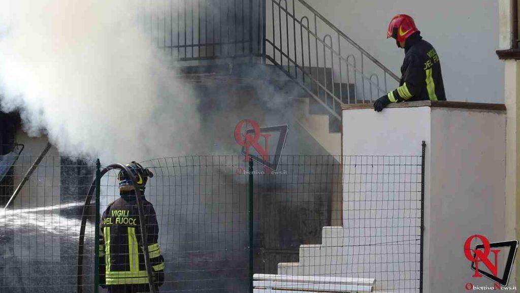 Oglianico Benne Incendio Garage 7