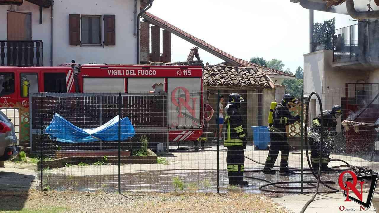 Oglianico Benne Incendio Garage 8