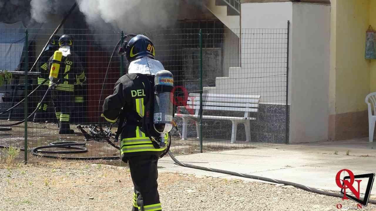 Oglianico Benne Incendio Garage 9