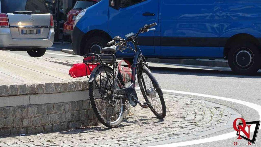 Rivarolo canavese scontro auto bici corso torino 9