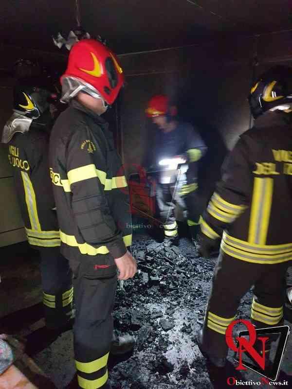 Ronco Incendio alloggio 1
