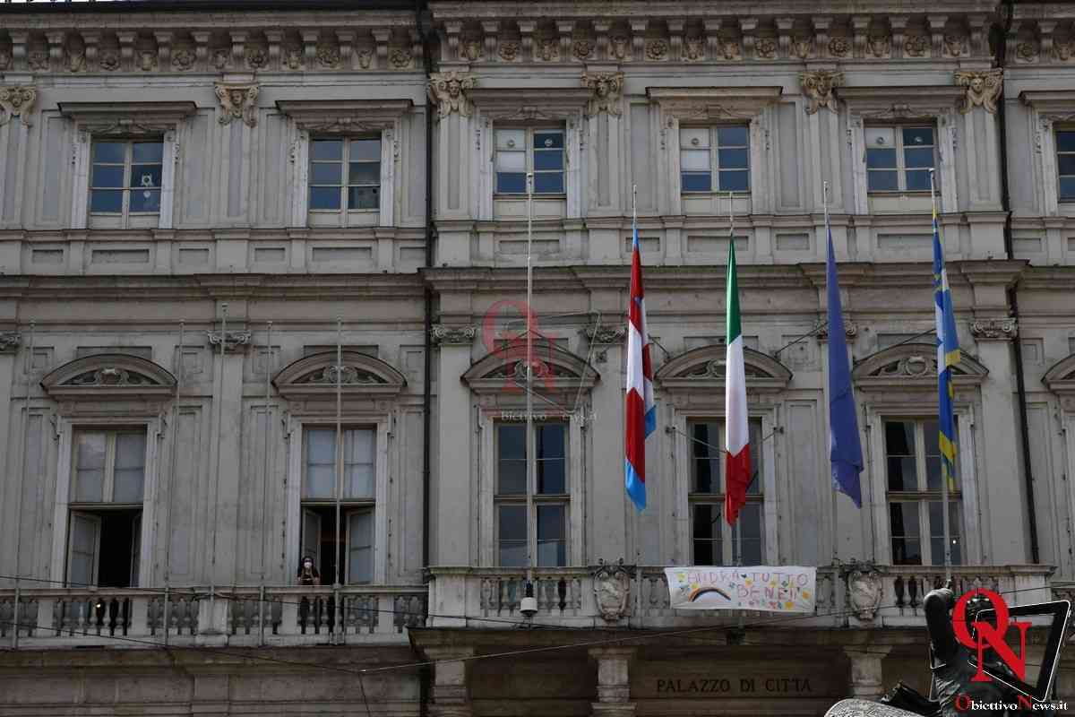 Torino Flash Mob lavoratori Teatro Regio 5