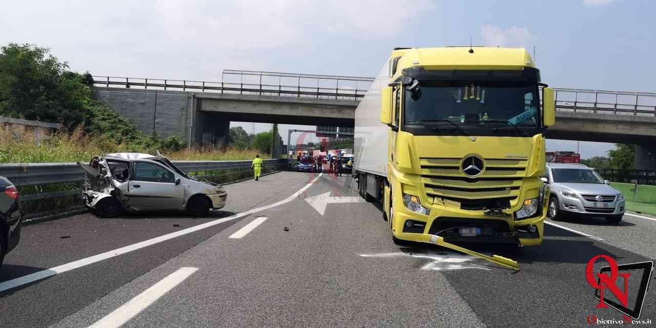 Borgaro incidente tangenziale 28072020 2