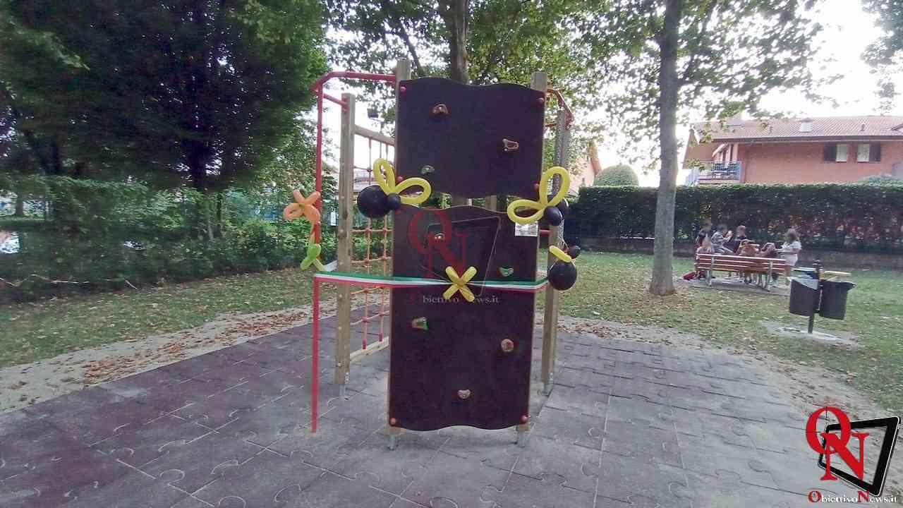 Favria Inaugurazione nuovo gioco al parco giochi 1