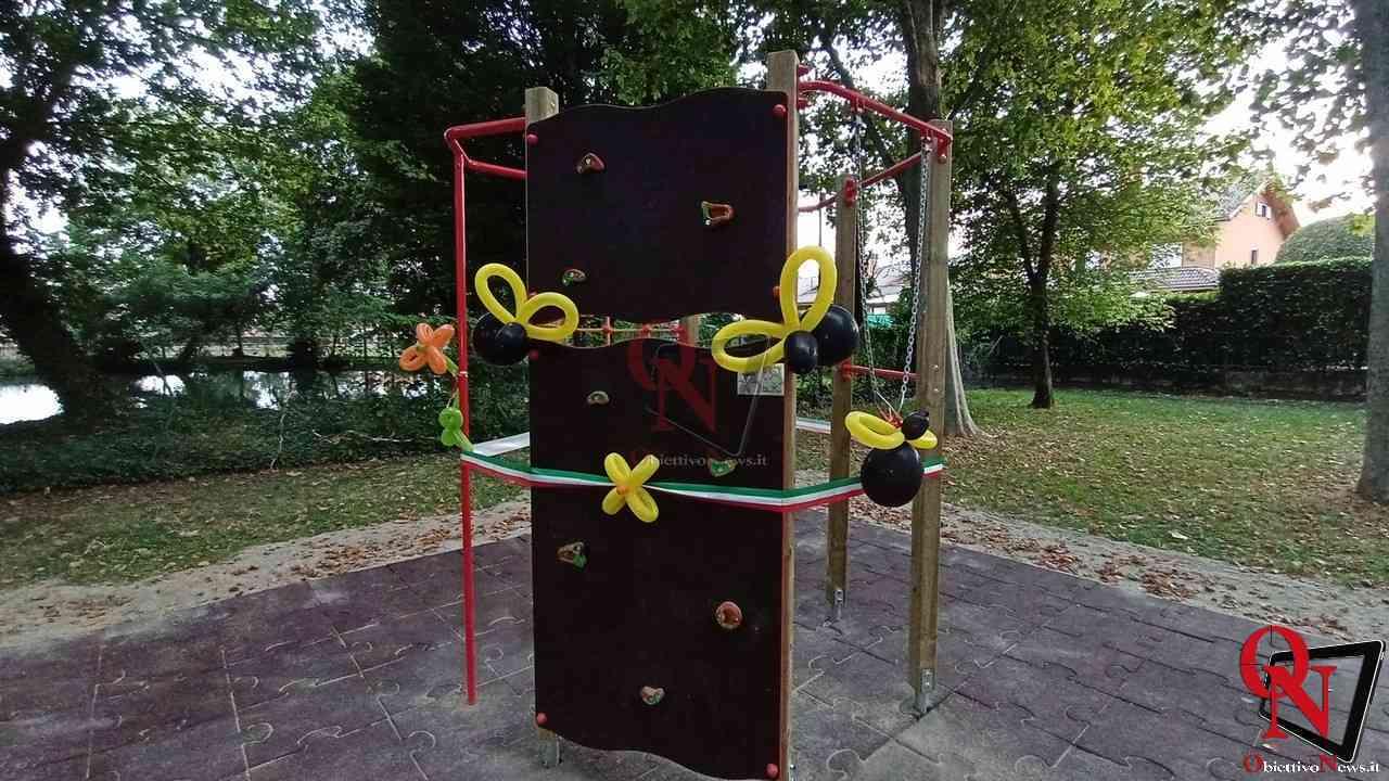 Favria Inaugurazione nuovo gioco al parco giochi 2