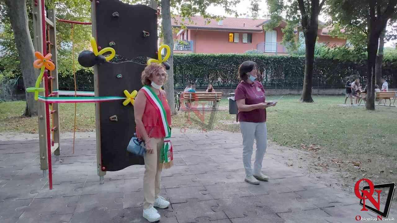 Favria Inaugurazione nuovo gioco al parco giochi 7