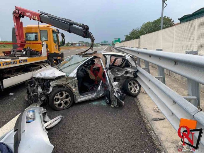 Settimo incidente a4 2