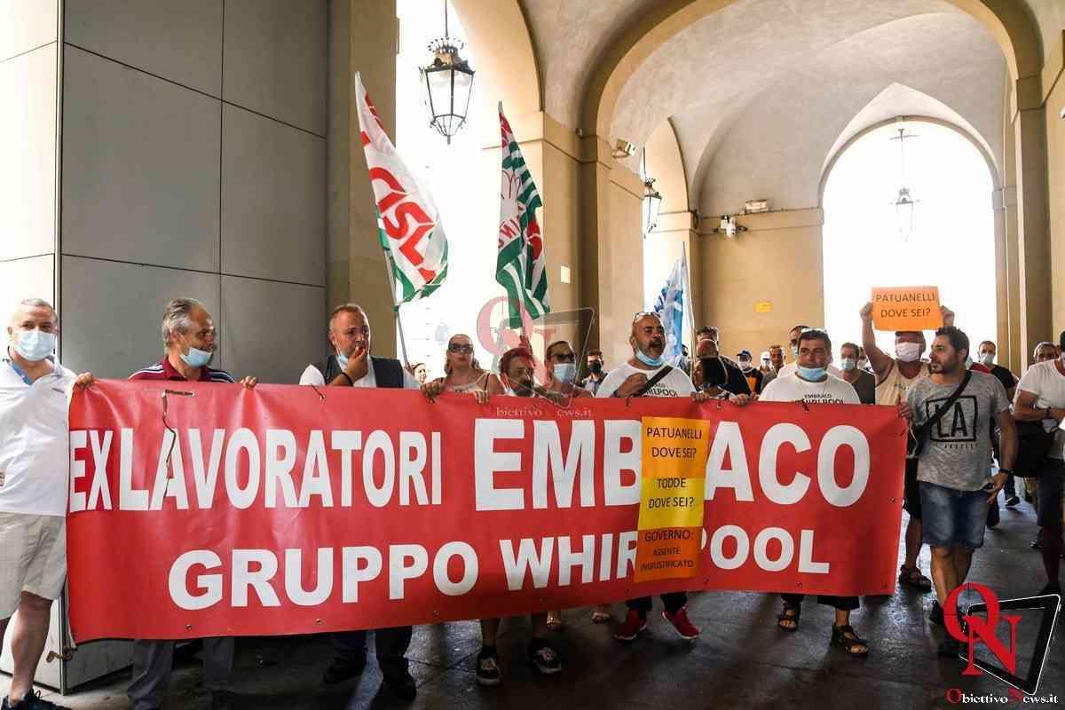 Torino Lavaratori ex Embraco e Sindacati ricevuti in Regione da Alberto Cirio 2