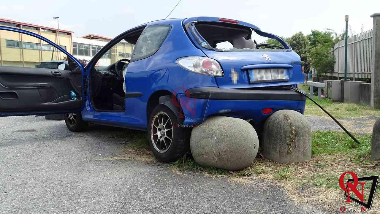Valperga incidente auto moto 7