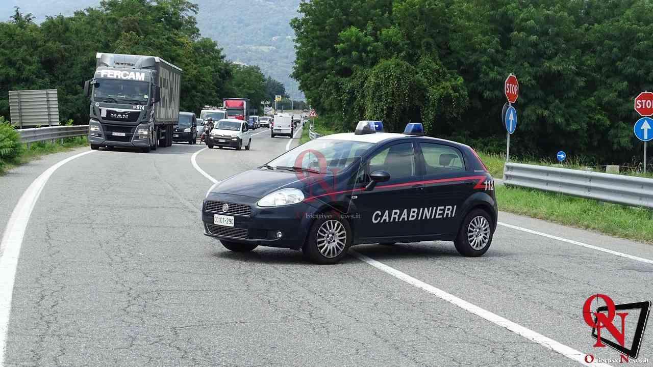 Valperga incidente auto moto 8