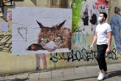 coronavirus milano murales passante fg