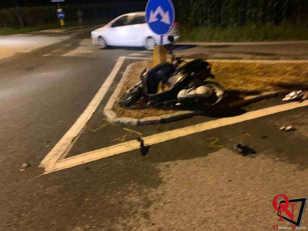 lessolo incidente scooter Res