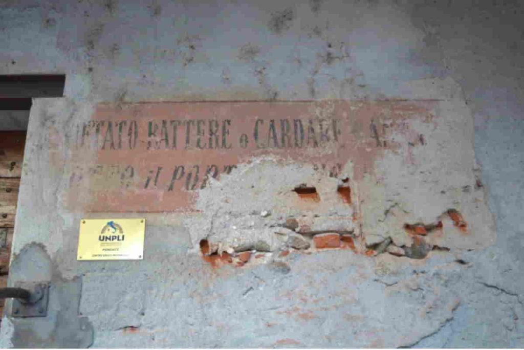 rivarolo scritta piazza Litisetto