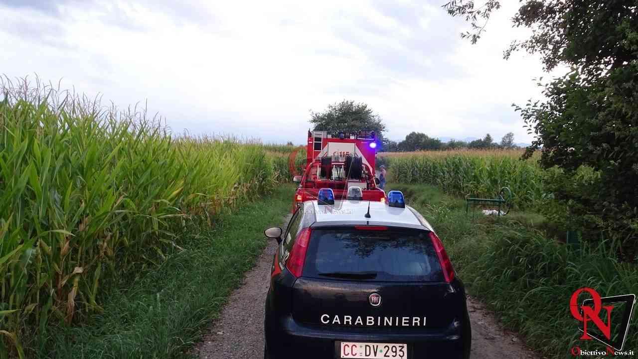 Feletto Incendio auto rubata 12