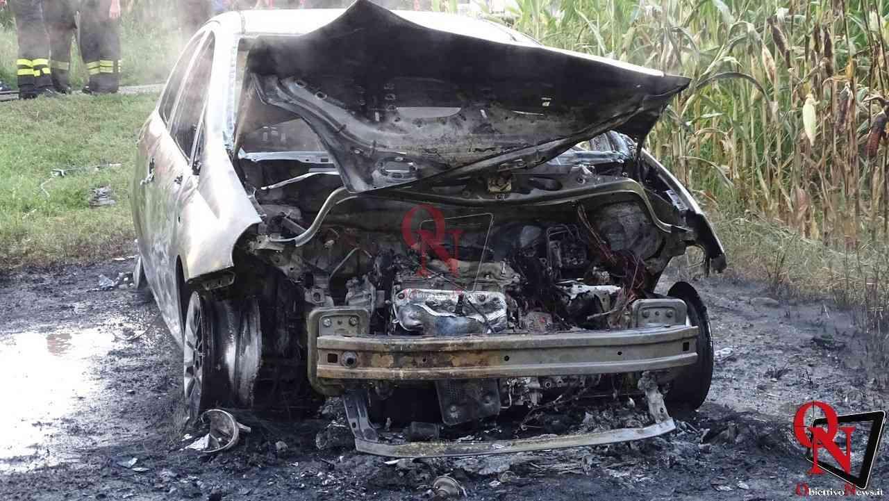 Feletto Incendio auto rubata 17