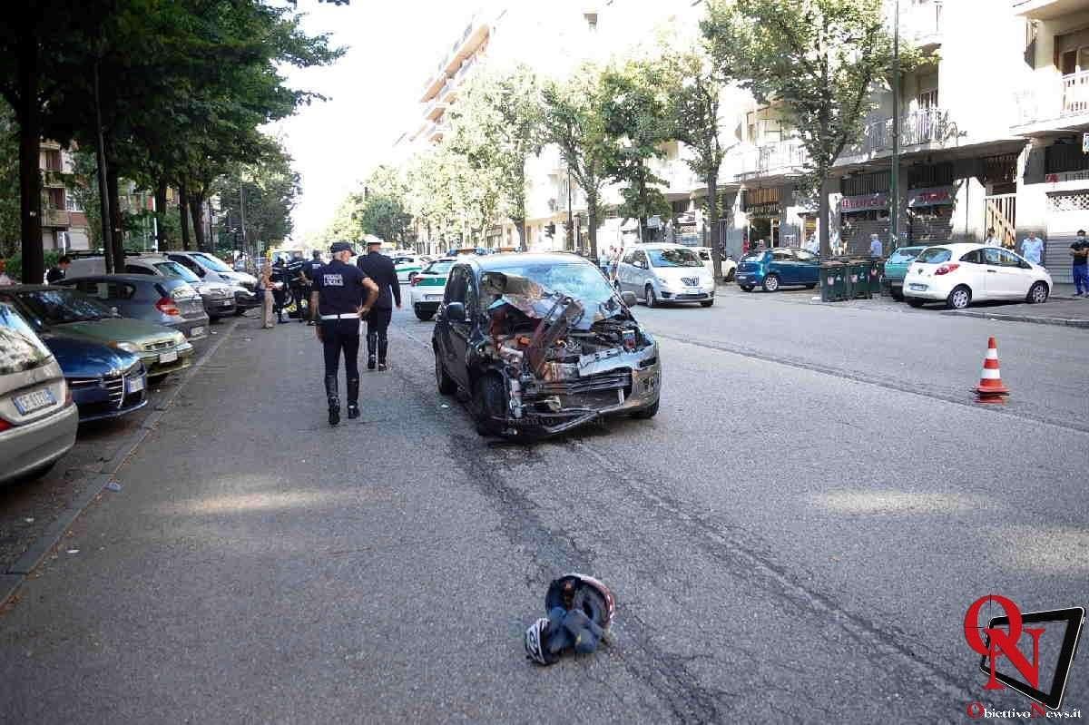 Torino incidente corso orbassano Res