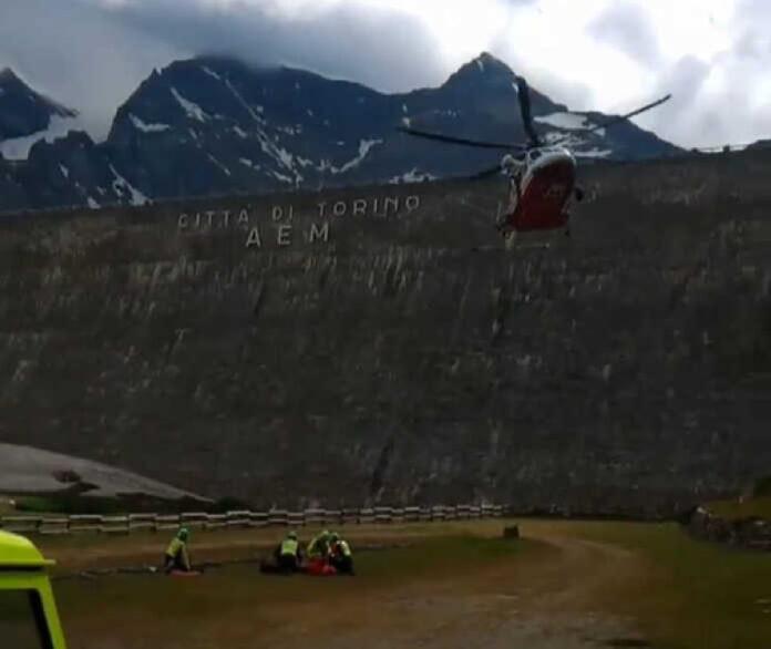 ceresole soccorso alpino eli