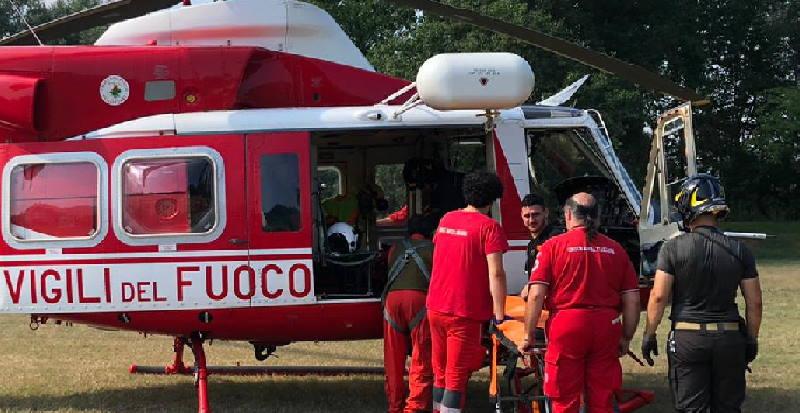 torino ciclista ferito san mauro1
