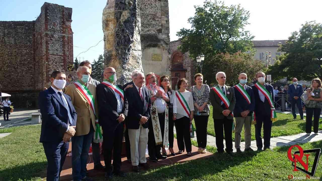 Castellamonte Inaugurazione Stele Costantino Nigra 1