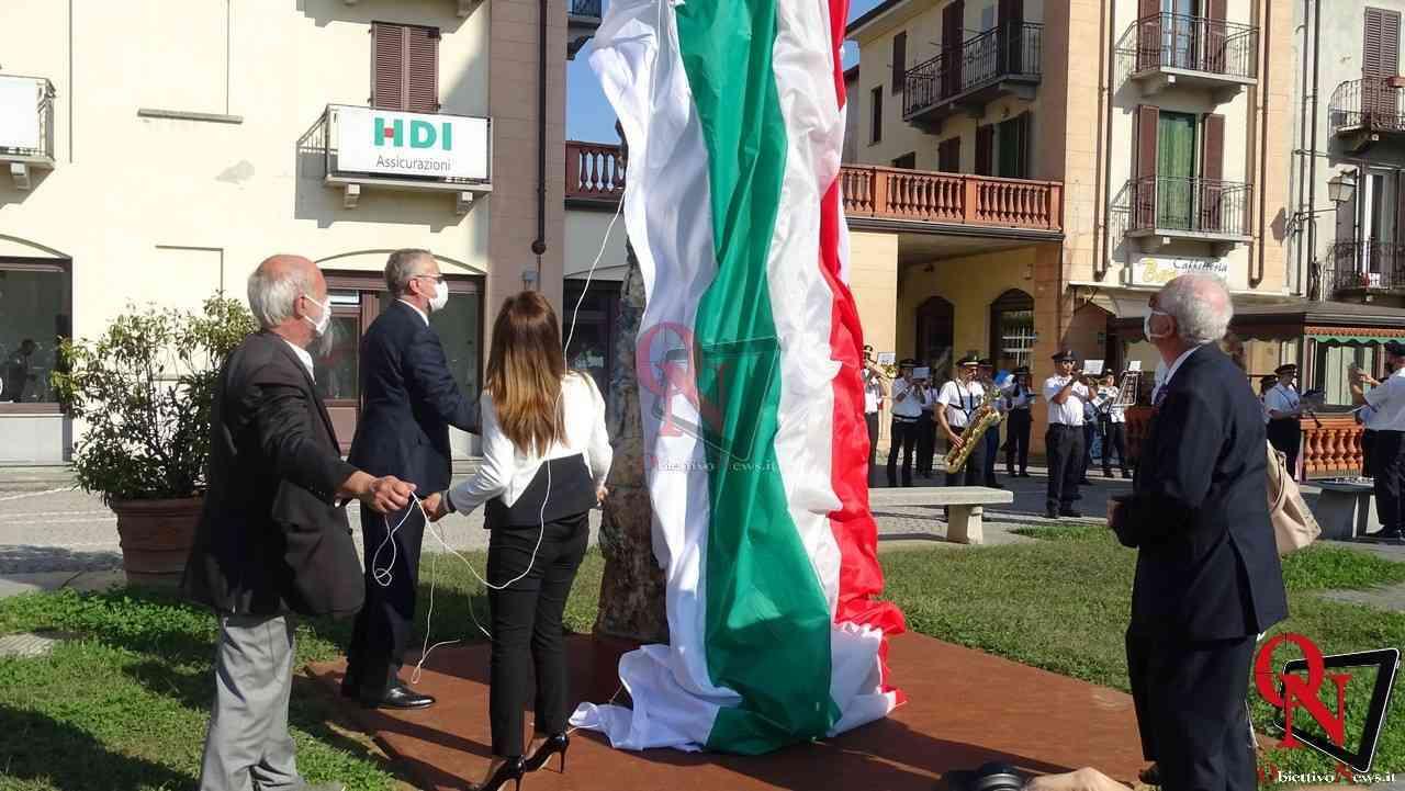Castellamonte Inaugurazione Stele Costantino Nigra 11