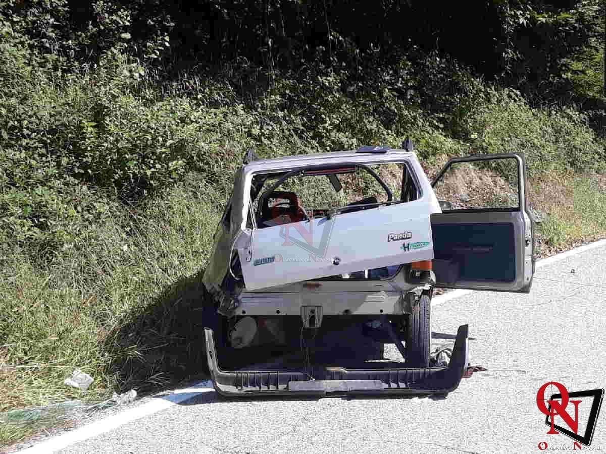 Sparone ribordone auto fuori strada Res