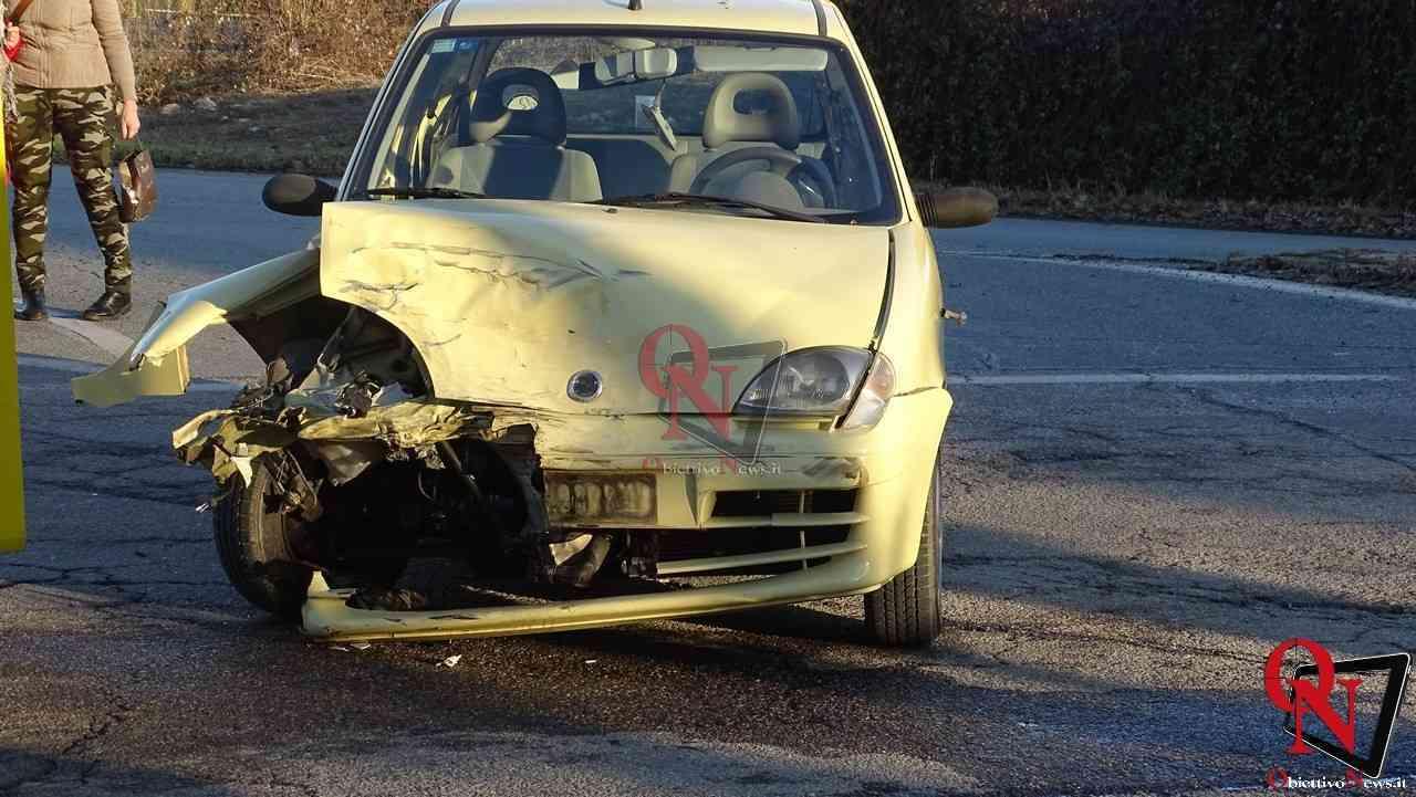 Front incidente incrocio Via Busano 12